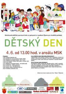 Pozvánka na dětský den v areálu MSK