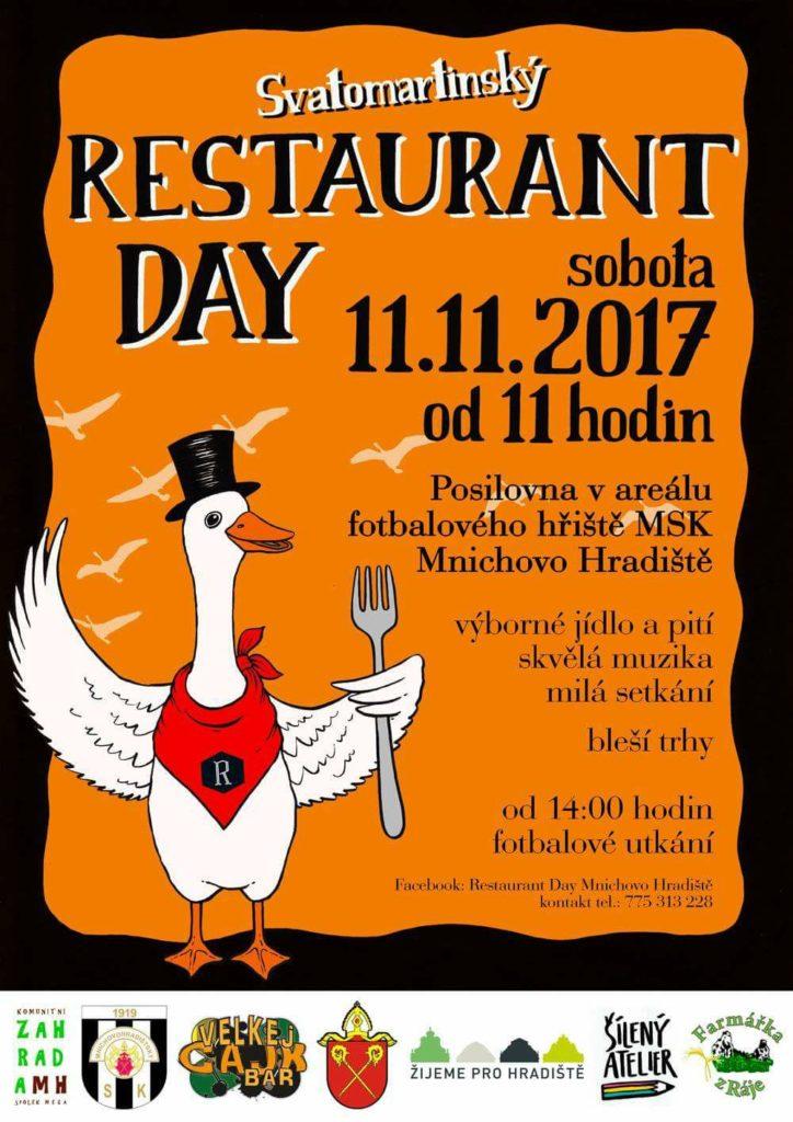 Restaurant Day + bleší trhy 11.11.2017