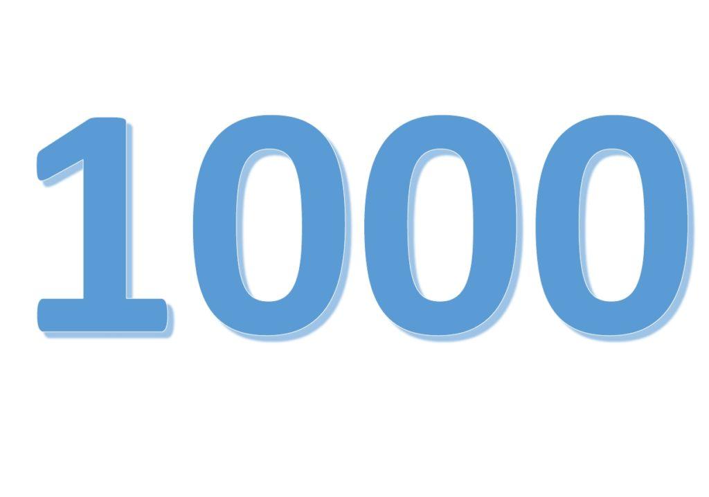 Máme tisíc podpisů :-)